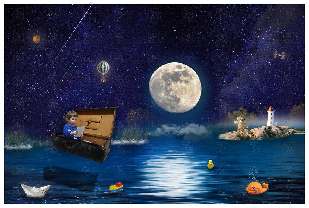 Ondřej a měsíc - v zemi snů